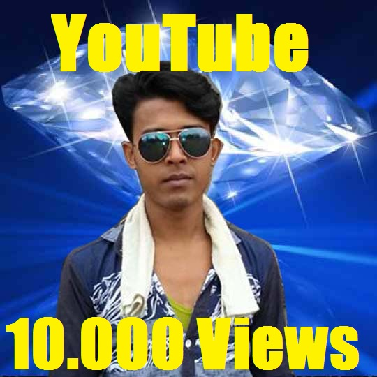 Real 10.000 YouTube Video Views Delivery Supper Fast Only