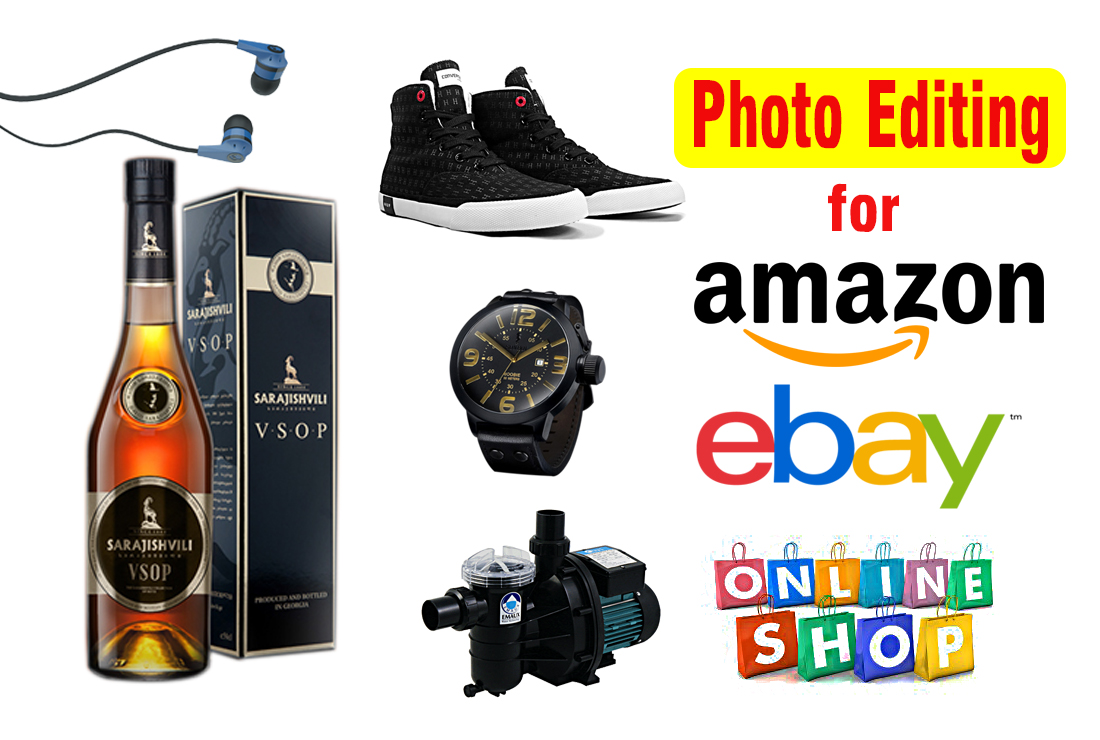 I can Edit Amazon,  Ebay,  Product Photos,  Remove Background