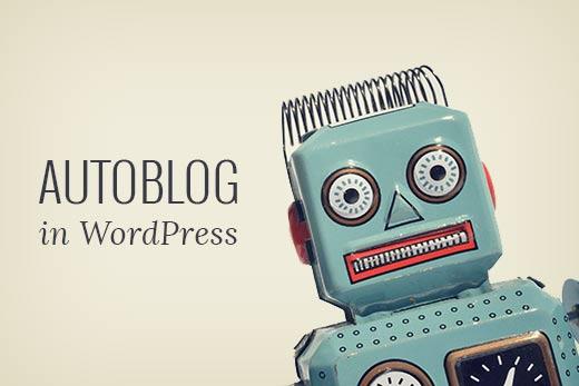 Develop Professional Autoblog