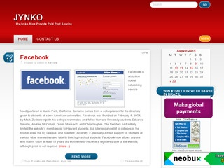 Jynko Blog For sell