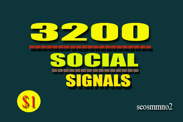 Best 5 High Quality 3200 PR9 SEO Social Signals