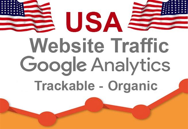 3 million USA organic website traffic - Low Bounce, 6 keyword targeted