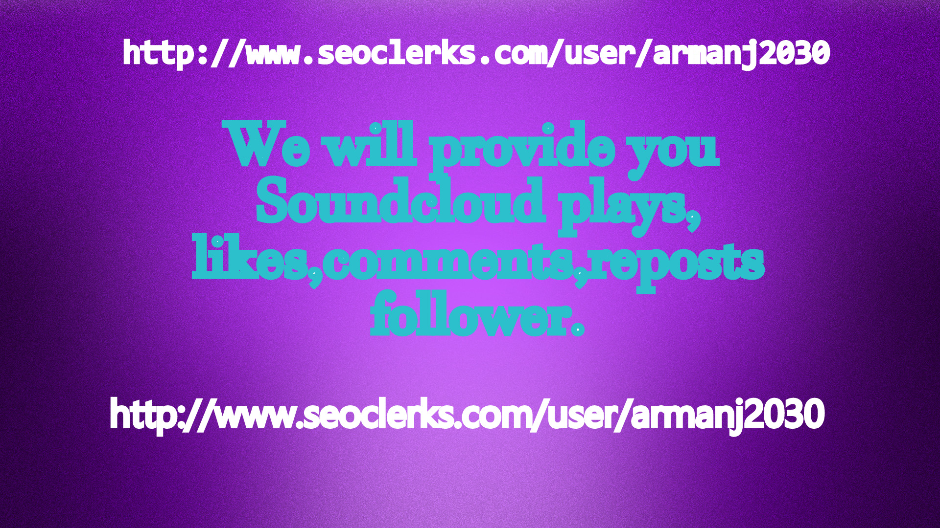 We will provide you 6k soundcloud plays 600 soundcloud USA likes + reposts  with 60 comments