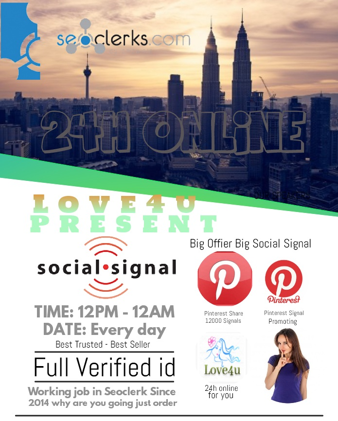 Get 10,000 PR9 Pinterest Share Life Time Social Signals Important For Search Engine Ranking