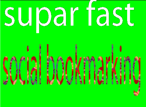 Supar fast social book marking