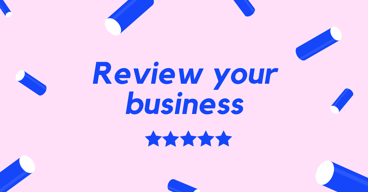 5x Five Star Reviews of your Business, Service or Article