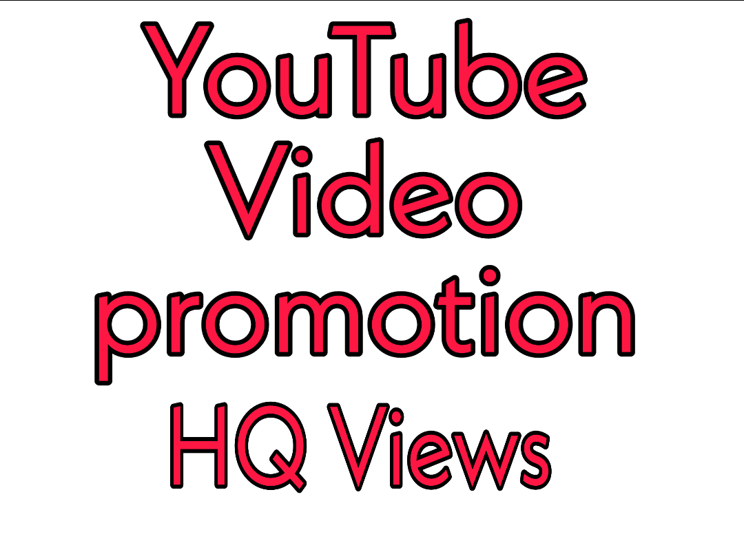 YouTube Video Promotion & Social Media Marketing Package