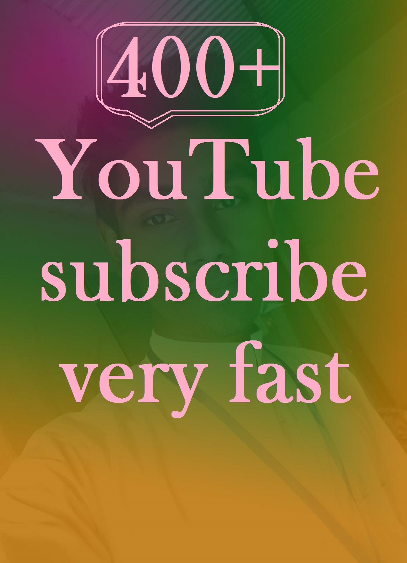 instant delivery 400+ subscribe very very fast