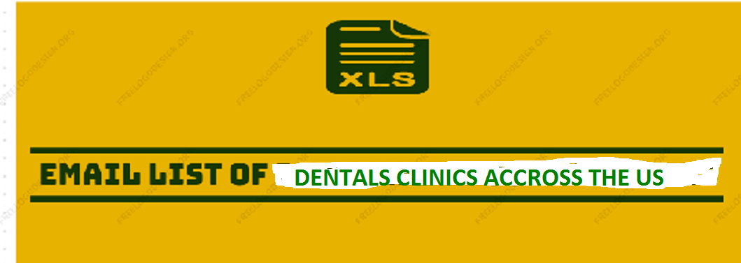 Email List of Dental Clinics Across the US