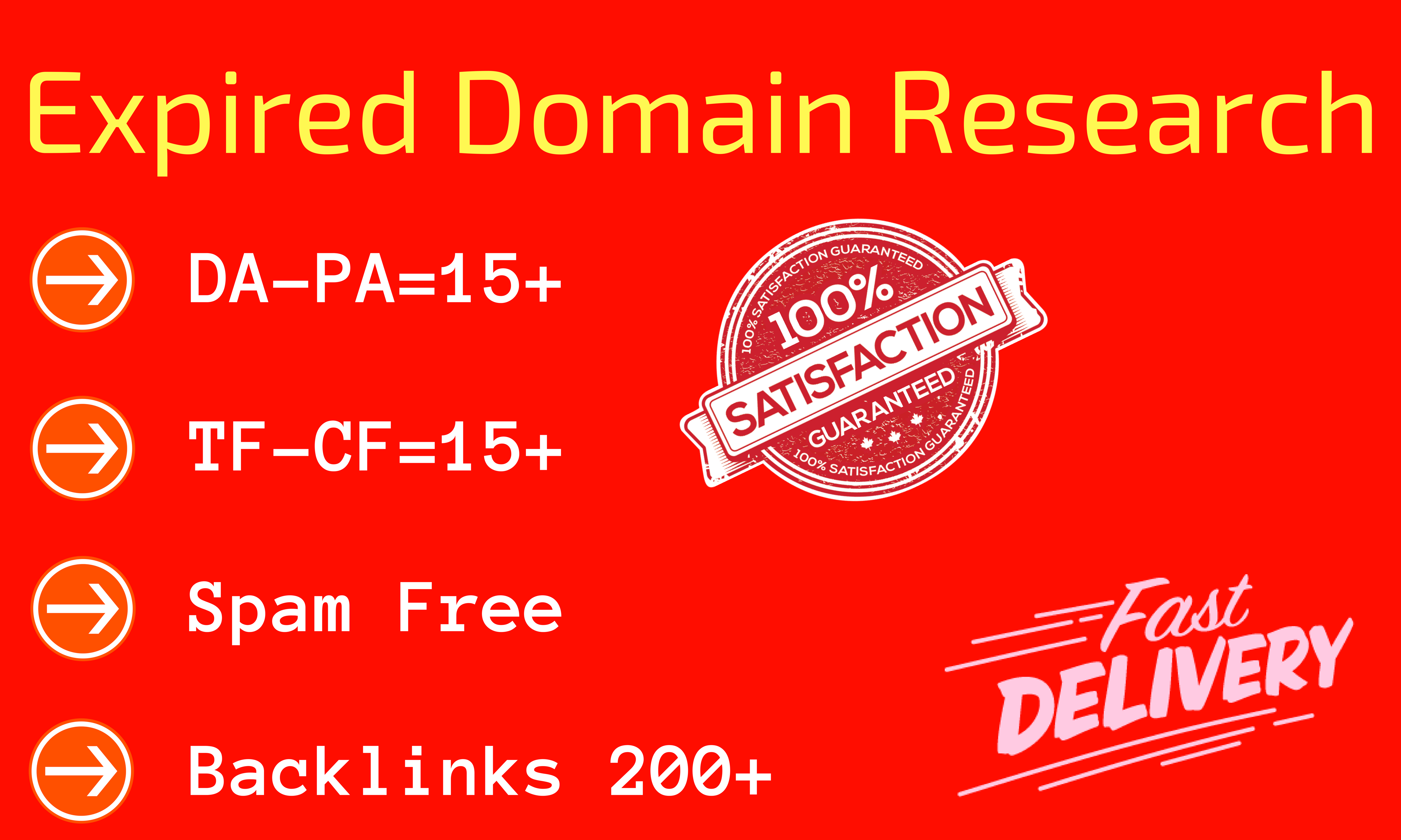 research high metrics expired domain