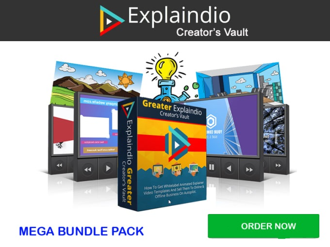 You Explaindio Mega Bundle Complete Pack