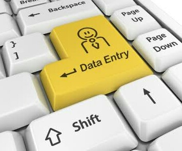 Data entry 1-2 pages
