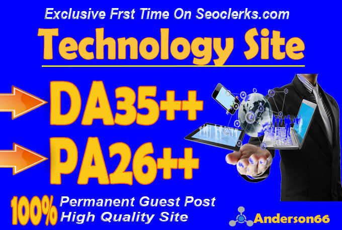 do guest post in DA35 HQ Technology blog
