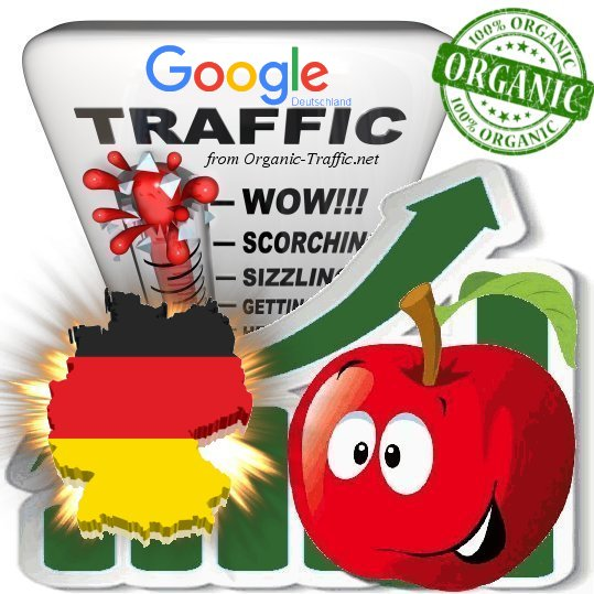 German Search Traffic from Google. de