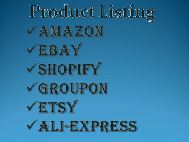 Creating attractive product listing