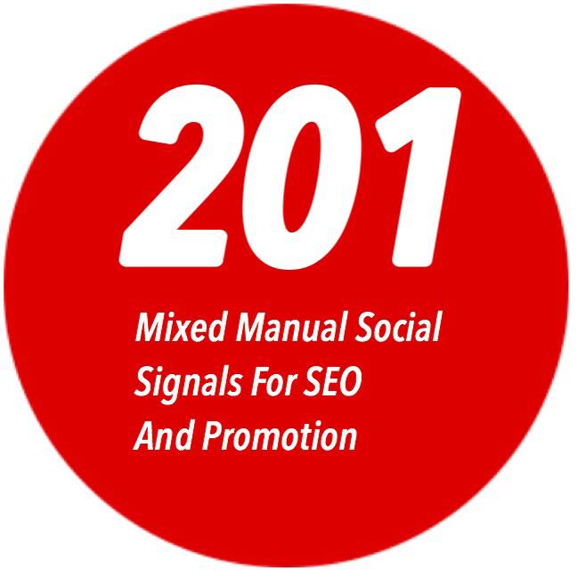 201 Social Bookmarks/Shares + 5. edu Backlinks - RankRocket
