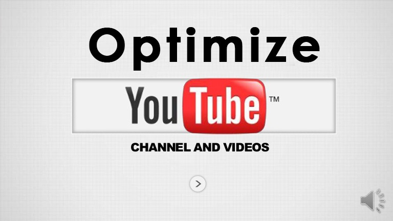 YouTube Channel& Videos SEO Optimization