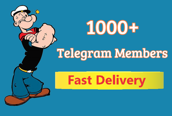 Add HQ 1000+ Telegram Permanent Channel Members Fast Delivery