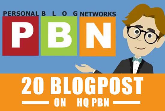 Manually Build 20+ PBN Links On DA30+