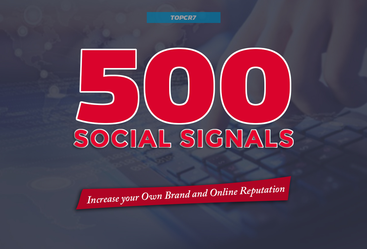Most Powerful 500 Social Signals SEO Backlinks - Effe...