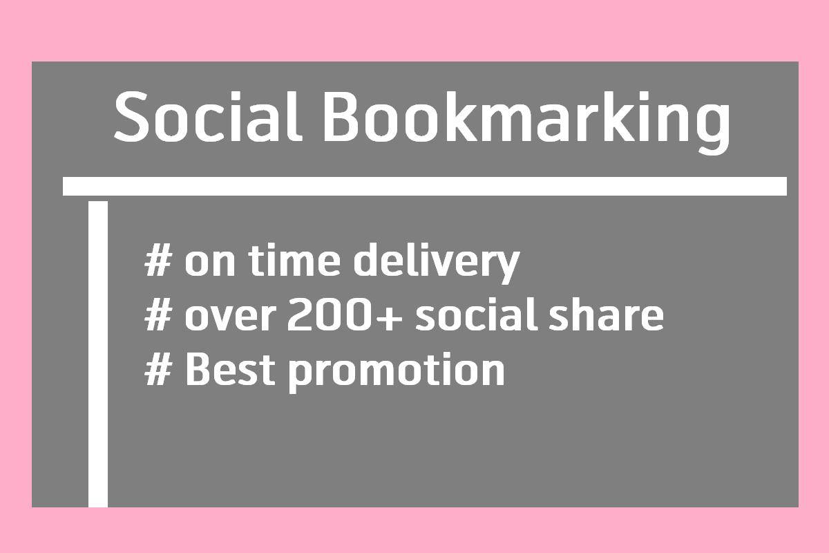 I'll do social bookmarking