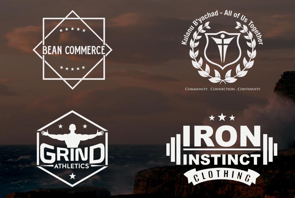 Create 2 vintage logo design