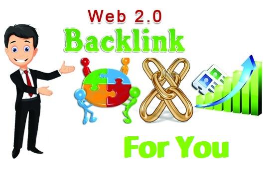 I Give 10 high DA web 2 0 backlinks with login