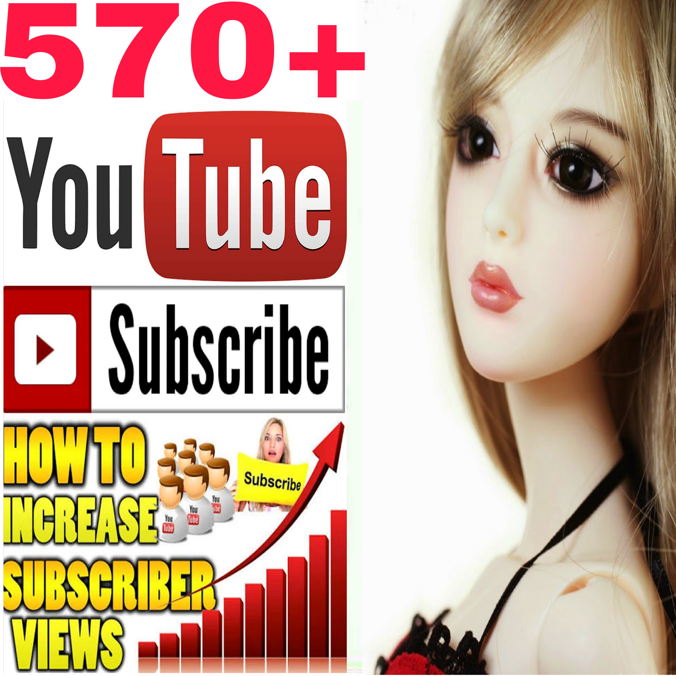 safe add 570+ yt channel subscriber very fast delivery within 3-7 hours