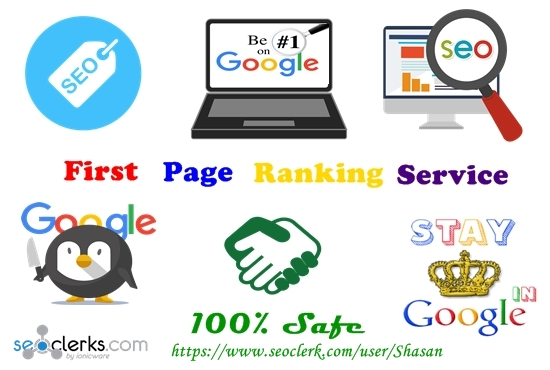 Guaranteed Google  First Page Ranking Service
