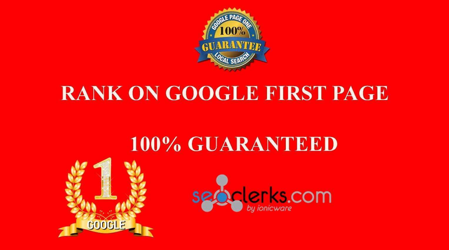 Rank You First On Google With High Quality SEO Backlinks