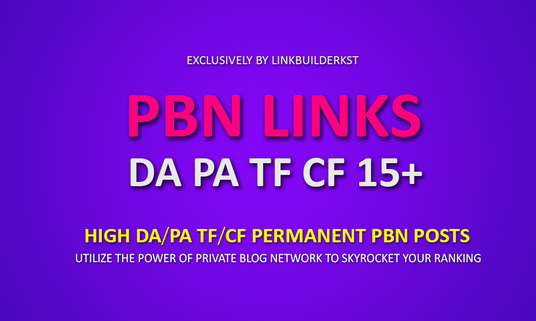Provide 10 PBN High PA/DA High Quality Powerfull PBN ...