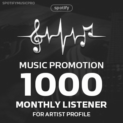 Express 1000 Monthly Listeners for Artist Profile - B...