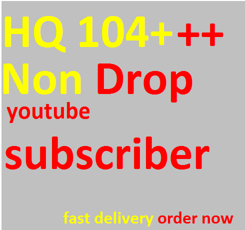 catch 125+  Real Youtub,e  channel subscribers only for