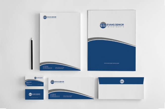 Design a Modern Business Card & Stationaries