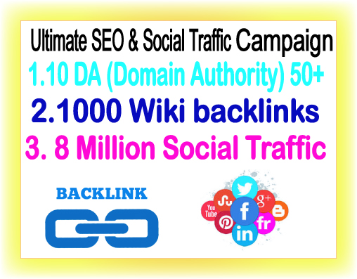 Google Safe SEO & Traffic campaign- Promote 8 Mil...