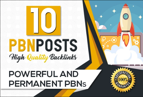 Build 10 High PR9_ PR10 Metrics Pbn Posts With Contextual Backlinks