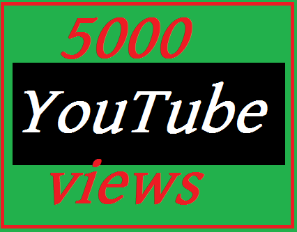 Limited Offer 5,000 YouTube view non dropped & 20 like beans complete 24-48 hours
