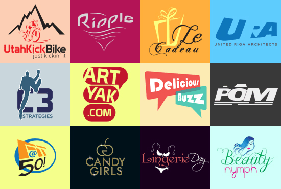5 TOTALLY Premium Logo design