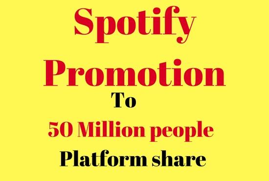 provide viral spotify promotion