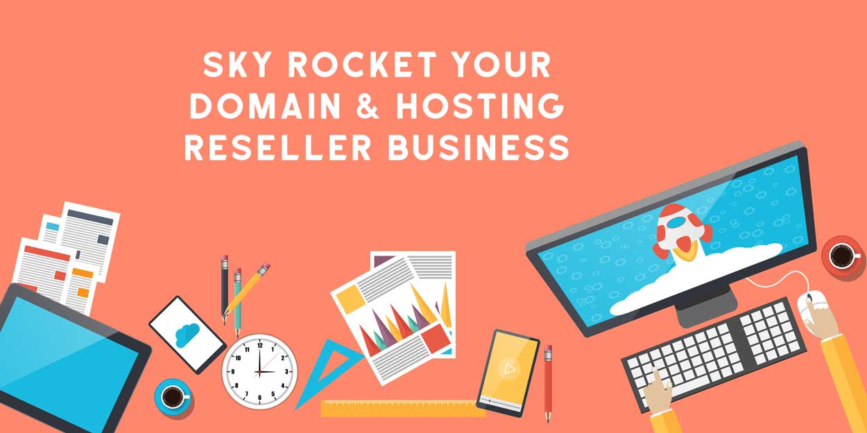 Become Domain and Hosting Reseller with Webstore