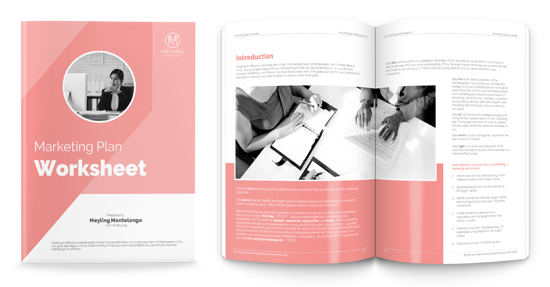 Design 5 Pages Lead Magnet PDF with Cover