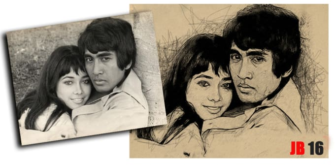 turn your photo into pencil sketch