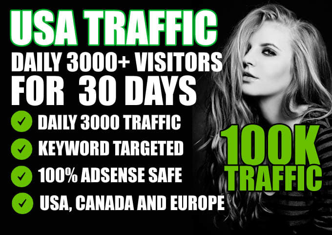 drive real website targeted traffic,promotion,usa visitors