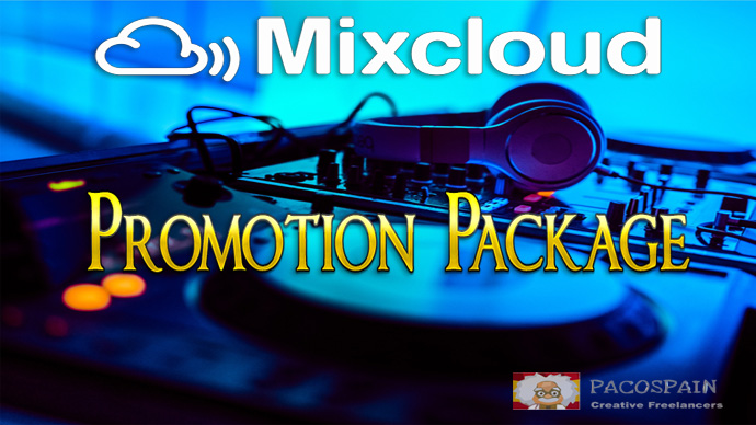 MIXCLOUD PROMOTION PACKAGE - the best there is for music