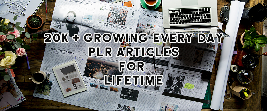 give you 20,000 + PLR articles on every possible nich...