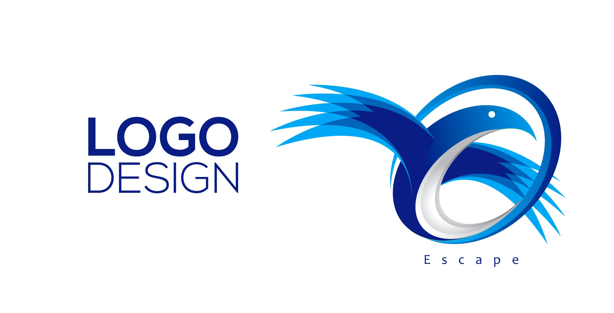 design simple logo for website or youtube channel