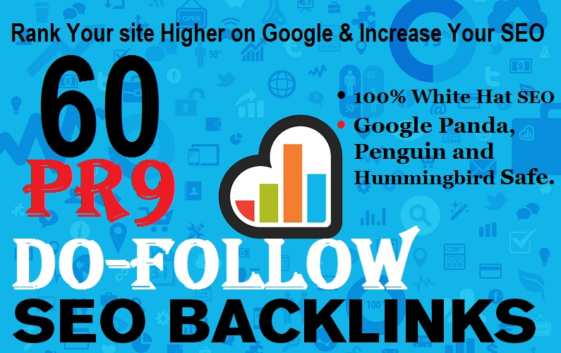 Do 60 Pr9 Do-follow SEO Back links