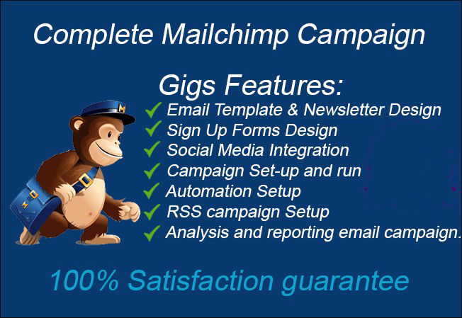 Do Setup Mailchimp List Campaign Email Template Auto Workflow