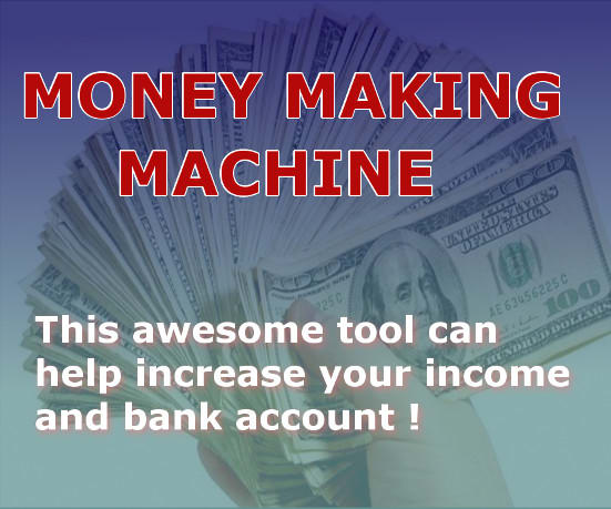 Make Money with Money Making Machine Software