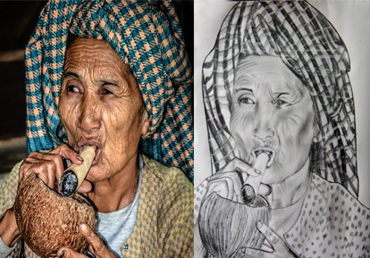 To turn your Photo into Pencil Sketch